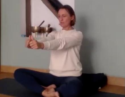 yoga des yeux exercice 1